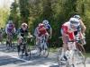 Maxence VILLAIN  en plein effort à la course de Saint-Jean de Monts le 01 mai 2012