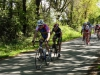 Course Cadet de Nieul le Dolent - Maxence contrôle la course - le 06 Mai 2012