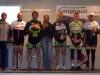 Podium de la course de MOUILLERON Semi-Nocturne en 2e Catégorie