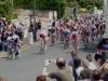 Arrivée de Quentin AUDOUX,Championnat régional minime à Chateauneuf