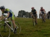 Maxence en course au cyclo-cross de Bierne