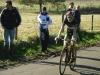 Arrivée de Quentin à la 11e place du Cyclo cross de Champagné