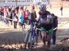 Martine à ST Hilaire de Riez au Championnat de Vendée de cyclo cross