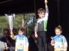 Podium Tom VILLAIN Vainqueur en Pré-licenciés