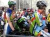 Quentin AUDOUX au départ du cyclo cross de Besançon