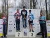 Podium Vendée Tour Pouzauges Catégorie Espoirs 1er Guillaume GAUDIN