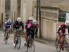 Claude à St Hilaire des Loges avec un groupe, derrière les 3 échappés