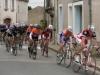Le Perrier Vélo Club groupé dans le Peloton à St Hilaire des Loges