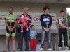 Podium de la 5e manche du championnat VTT Ufolep à MOUILLERON, 1er Guillaume GAUDIN