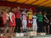 Maxence vainqueur du Classement par points et les autres mailots