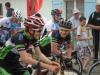 Maxence et Quentin au départ de la course cadets à La Garnache
