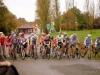 Départ du Cyclo cross Cadets à Cholet
