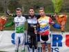 Podium Cyclo cross de Vihiers, 1er Quentin AUDOUX