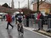 Arrivée Quentin AUDOUX Cyclo cross Cadets de Bournezeau