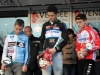 Podium du Cyclo cross cadets de Bounezeau, 1er Quentin AUDOUX