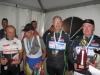 Podium du Challenge Langonnais, 1er Alain ROBERT, 2e Claude DUPONT,3e Pierre COMMERIE absent sur la photo
