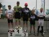 Podium 3e catégorie, 3e José PINTO, 4e Franck AUDOUX