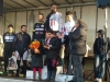 Podium 3e catégorie à Pouillé, 2e Fabien DELAPRE, 4e Patrick CHARLAND
