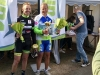 Podium de la course FSGT de La Suze (72), 2e Franck AUDOUX