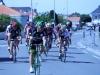 Arrivée du peloton à la course du Perrier avec Pierre,Serge,Jean Charles