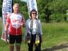 Claude DUPONT Champion de Vendée avec Madame le Maire