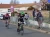 Arrivée Course GS, Corpe victoire Patrick CHARLAND