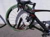 Vélo cassé chute à l'arrivée à Ste Hermine