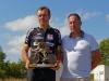 Trophée Franck AUDOUX vainqueur Xavier DANIEAU - Photo Christophe CORJON