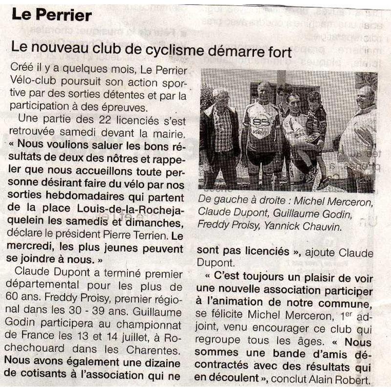 Ouest France du 21 juin 2012