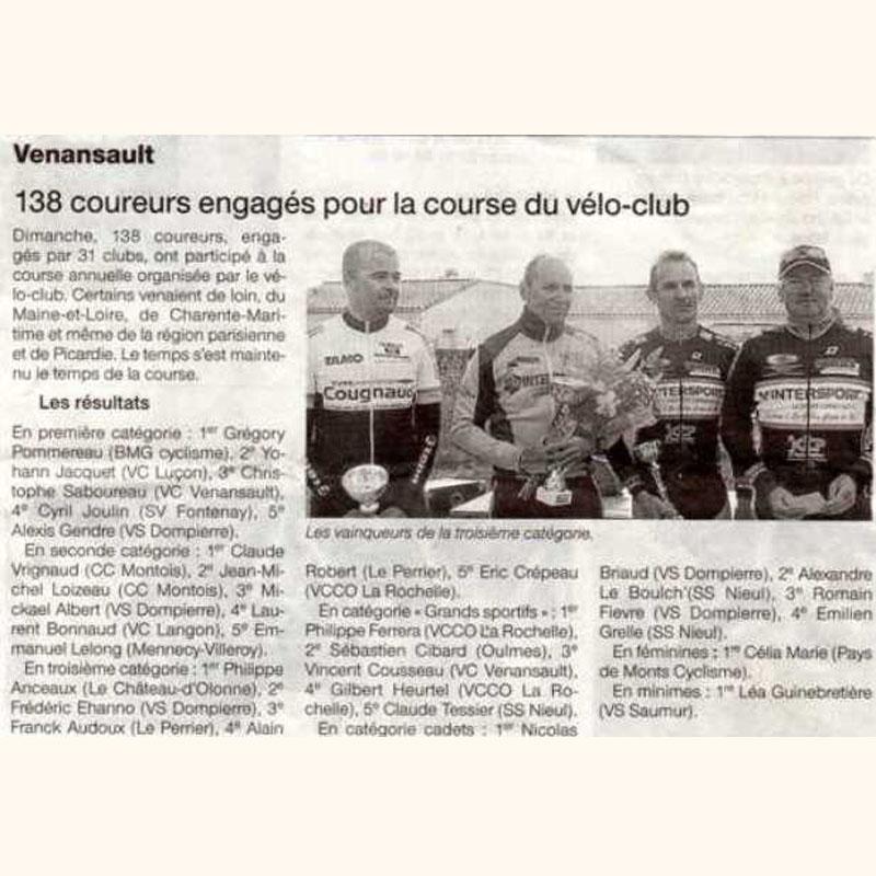 Ouest France du 25 juin 2012