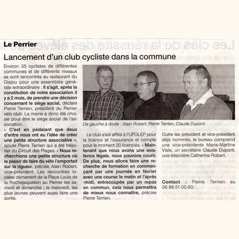 Ouest France du 29 novembre 2011