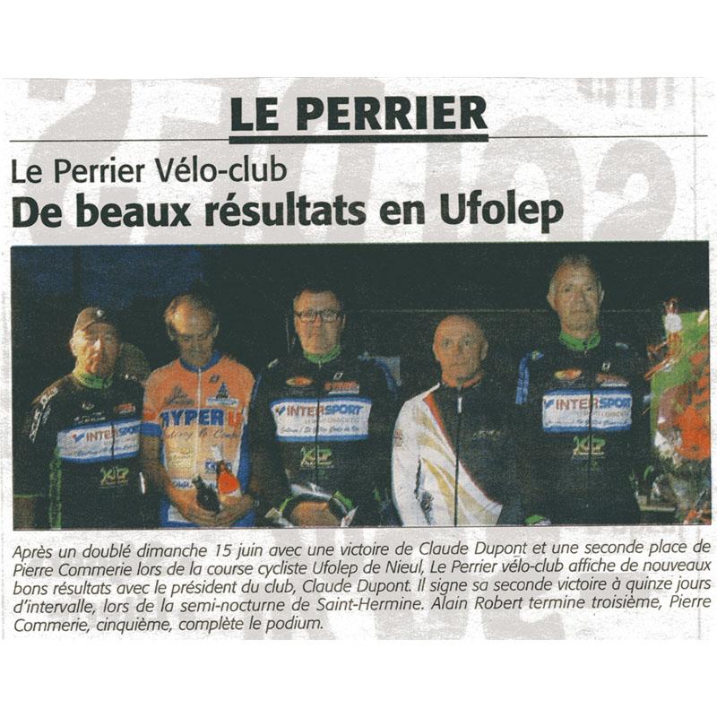 Le courrier Vendéen du 10 juillet 2014