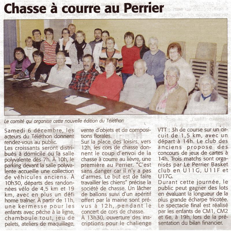 Le Courrier Vendéen du 04 décembre 2014