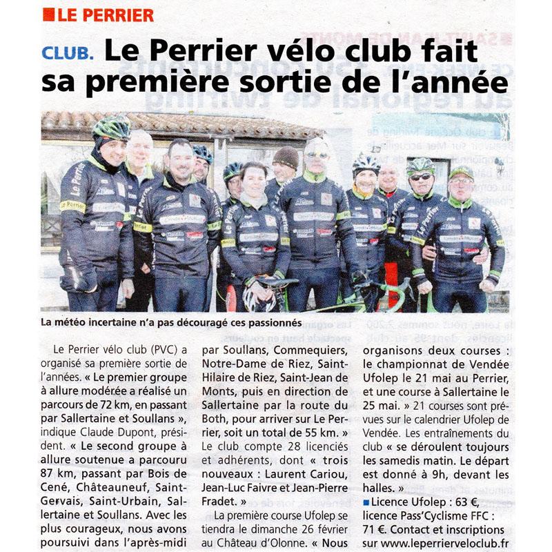Le Courrier Vendéen du 16 février 2017