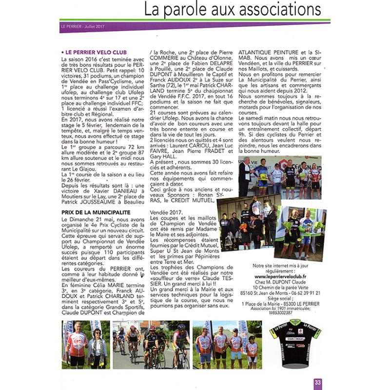 Bulletin Municipal de juillet 2017